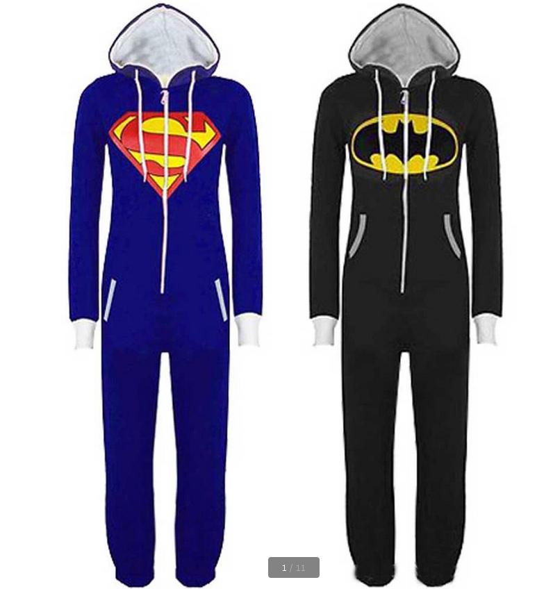 Disfraz Superman Adulto Onesies Adultos Superman