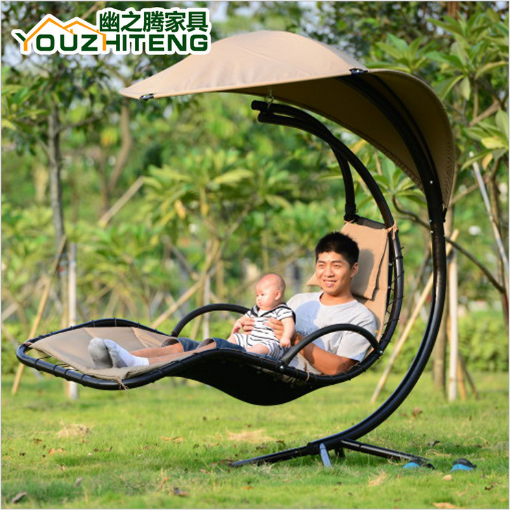 2015 new arrive metal home rocking chair outdoor garden swing fashion swing hanging chair in. Black Bedroom Furniture Sets. Home Design Ideas