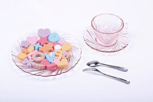 Bakeware LOVE Heart Star Silicone Muffin Tray Candy Cupcake Jelly Mold Baking Pan 26 Cells - Tomshow store