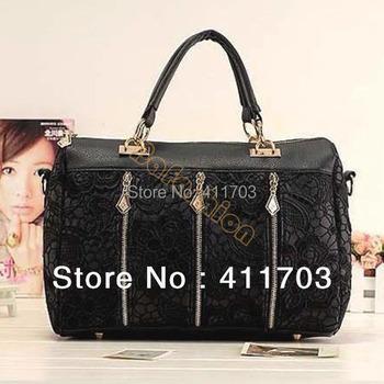 2013 Stylish Lady's MMLOVE PU handbags women bags Lace Bag wholesale bags 3890