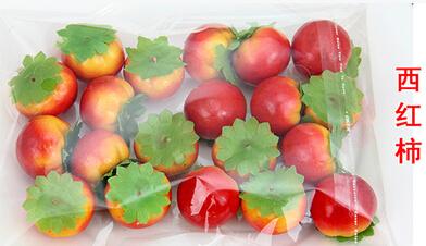 Compra tomate artificial online al por mayor de china - Frutas artificiales para decoracion ...