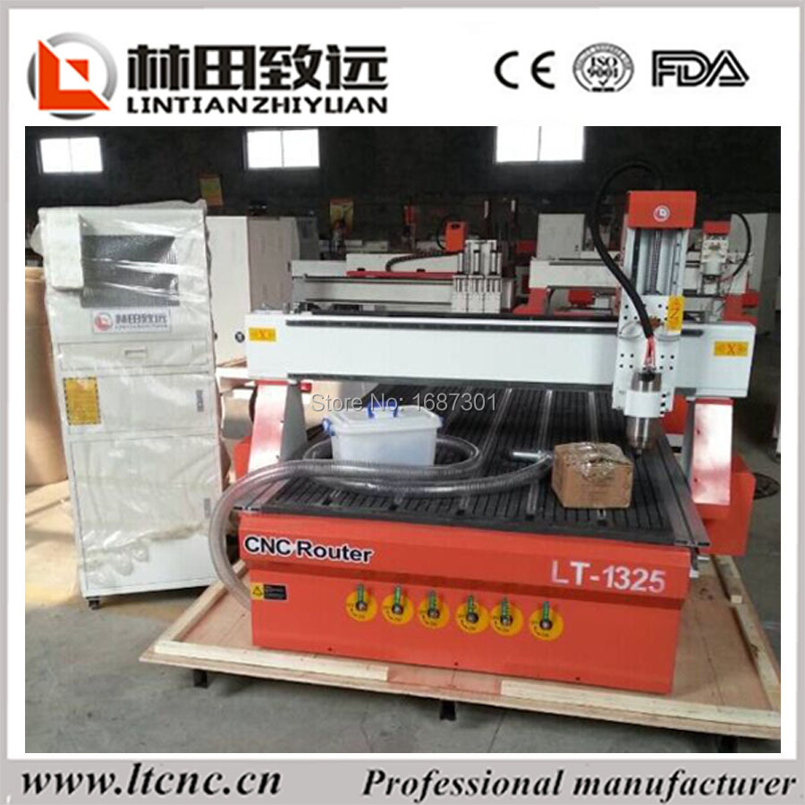 LT-1325 with vacuum table, wood 3d carving cnc router machine(China (Mainland))