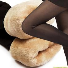 plus cashmere velvet leggings thick through the meat warm pants women's Leggings Warm Leggings winter clothes free shipping(China (Mainland))