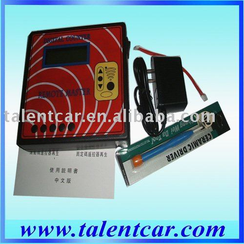 Remote Master/Key Copied Frequency tester Regenerate RF Remote Controller/copier Key Programmer Free Shipping(Hong Kong)