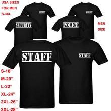 Special Force Unit Military Police Staff Security T Shirt Men Women Summer Fashion Top Work Shirt fitness T-Shirt harajuku Shirt