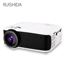 RUISHIDA M3 LCD Projector Home Theater Android 4.4 Wireless Bluetooth 4.0 WiFi 3000LM 1280 x 720 Pixels HD 1080P Media Player(China (Mainland))