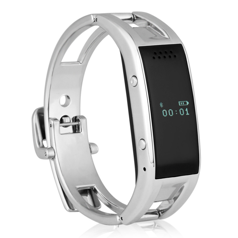 Excelvan Bluetooth Smart Bracelet Watch Sync Call SMS Music Reminder Anti-lost for Android IOS<br><br>Aliexpress
