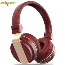 Original Zealot B17 Wireless Bluetooth Headset Earphone Stereo Music Headphone Support TF SD Card/FM Radio mobile phones - Ollivan Earphones Store store