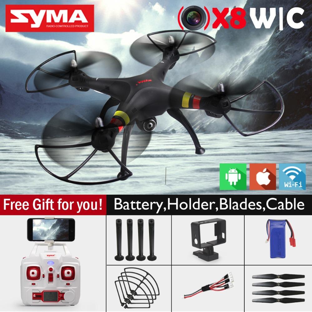 SYMA X8W FPV Drone with Camera 2MP Wide Angle WIFI 2.4G 4CH 6Axis RTF SYMA X8C