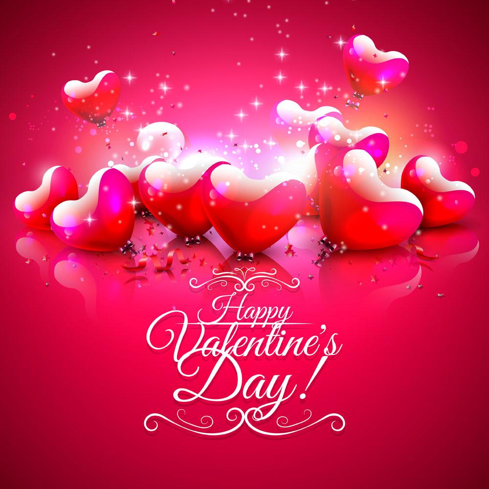 Поздравления с Днём Святого Валентина на английском языке с 67