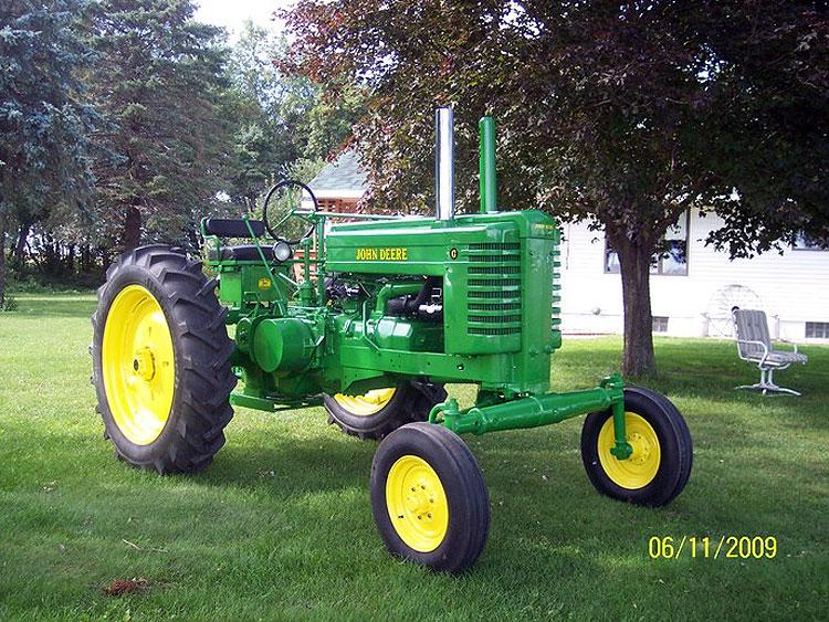 KNL HOBBY J-Deere 1947 Mannequin G Deere tractor agricultural automobile mannequin reward ERTL 1:16
