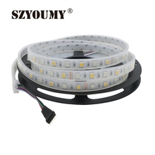 Buy SZYOUMY FREE DHL/FEDEX 50m/lot 5050 RGBW LED Strip,RGB+WW/RGB+CW 300LED DC12V IP67 sillicon tube waterproof LED strip 60LED/m for $100.44 in AliExpress store