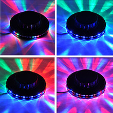 led rgb tornado voice-activated dancing lamp bulb stage light DJ party disco turning round colorful lighting for relax playing(China (Mainland))
