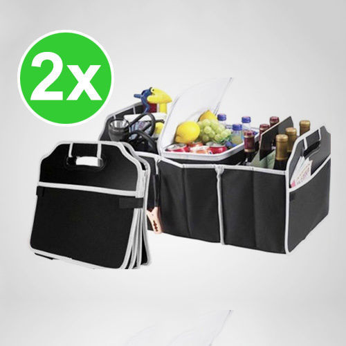 2x Collapsible Car Boot Organiser Trunk Organizer Space Saving container Suitable for all Auto Brand Storage Bag Box Zakka(China (Mainland))