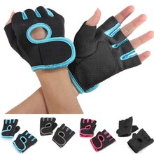 Free shipping Gym Body Building Training Fitness Gloves Sport Protection Weight lifting Workout Exercise Durable Long Wrist Wrap