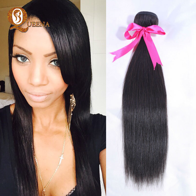 6A Brazilian Virgin Hair Straight Cheap Brazilian Straight Hair 1 Bundle Virgin Brazilian Hair Extensions 100% Human Hair weaves<br><br>Aliexpress