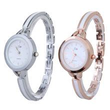 2014 nueva moda elegante princesa de las para mujer pulsera de cuarzo analógico reloj OL DM #6