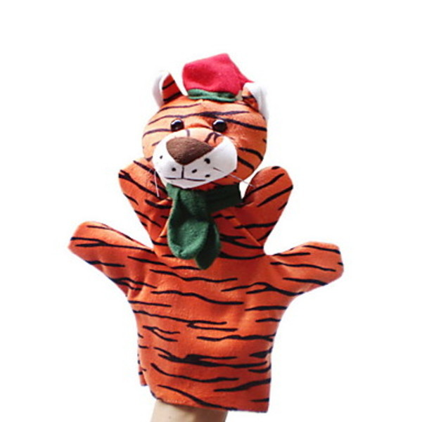 Newway Christmas Tiger Large-sized Hand Puppets Toys(China (Mainland))