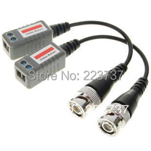 Freeshipping 20/PCS  BNC CCTV Video Balun passive Transceivers UTP Balun BNC Cat5 CCTV UTP Video Balun