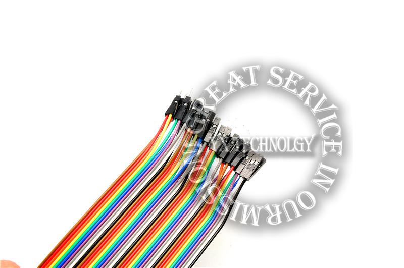 Контрольный кабель Yx 21 * 40strip 40P DuPont 40 Male turn female head  DuPont wire