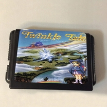 Sega MD Game Cartridge – Twinkle Tale USA/EUR Case for 16 bits Sega Genesis Megadrive Console System