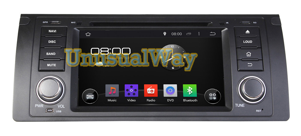 7 inch 16G single 1 din Android 4.4.4 Car DVD GPS Navigation Special for BMW M5/E39 (1995-2003) X5/ E53(2000-2007) 800*480(China (Mainland))