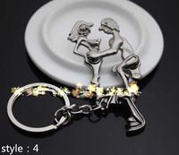 Новая 2015 альтернативных сексуальный любитель брелок металл брелок брелок цепи смешная игрушка