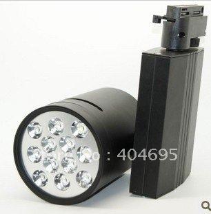 Free shipping 5PCS 12W led track light / light rail / stand lamp / commercial lighting / led track spotlight