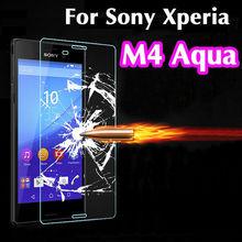 Ультратонкий 0.3 мм взрывозащищенный премиум Tuflite закаленное закаленное стекло протектор царапинам для Sony Xperia M4 аква