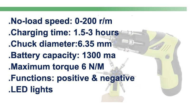 Hitachi 3.6v cordless driver drill