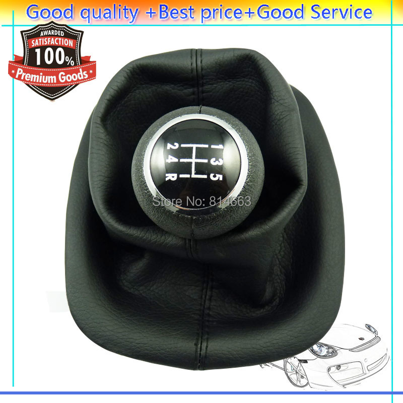 5-Speed Gear Shift Knob Gaitor Boot VW Passat B5 B5.5 1996 1997 1998 1999 2000 2001 2002 20003 2004 2005 (HDSQVW006) - Shanghai Xinyue Auto Parts Co,. Ltd. store