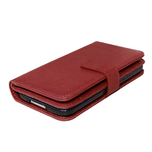 For Samsung Galaxy S5 Leather Case i9600 G9000 Flip Wallet Case For Samsung S5 Soft Rubber Cover Card Holder Mobile Phone Bag <(China (Mainland))