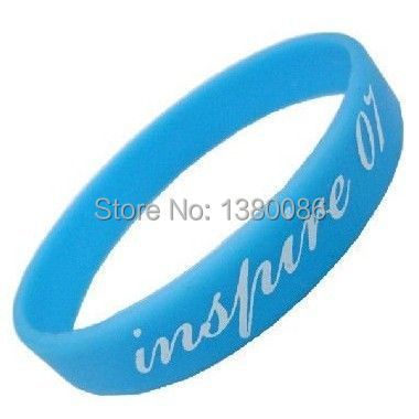 Custom Rubber Bracelets Silicone Wristbands Rubber Wristband and Silicone Bracelets Rubber Bracelets Online Shopping(China (Mainland))