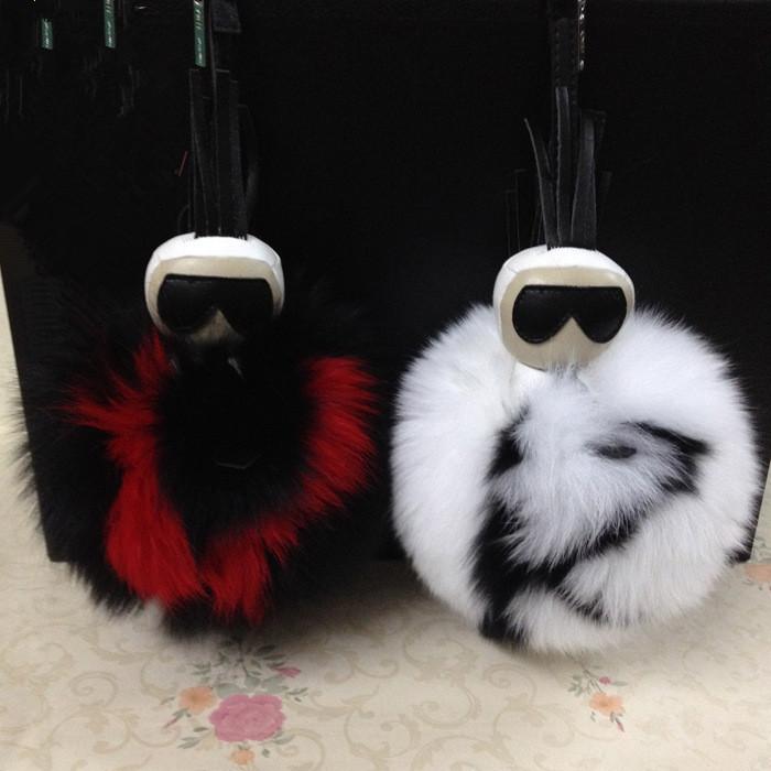 Fur pom pom keychain Trinket women Fur Keychains women monster fur for keys Galeries Lafayetter bag charm Key ring Key cover(China (Mainland))
