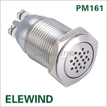 16mm continuous sound Buzzer (PM161B-M/12V)(China (Mainland))
