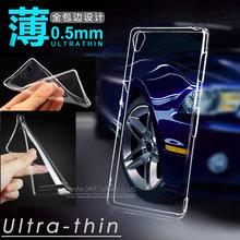 Ultra-thin Clear Crystal Transparent TPU Gel Soft Case Cover Sony Xperia Z1 Z2 Z3 Z4 Compact mini M2 T2 T3 C3 C4 E3 E4 Z3x - Shenzhen DY Technology Co., Ltd. store