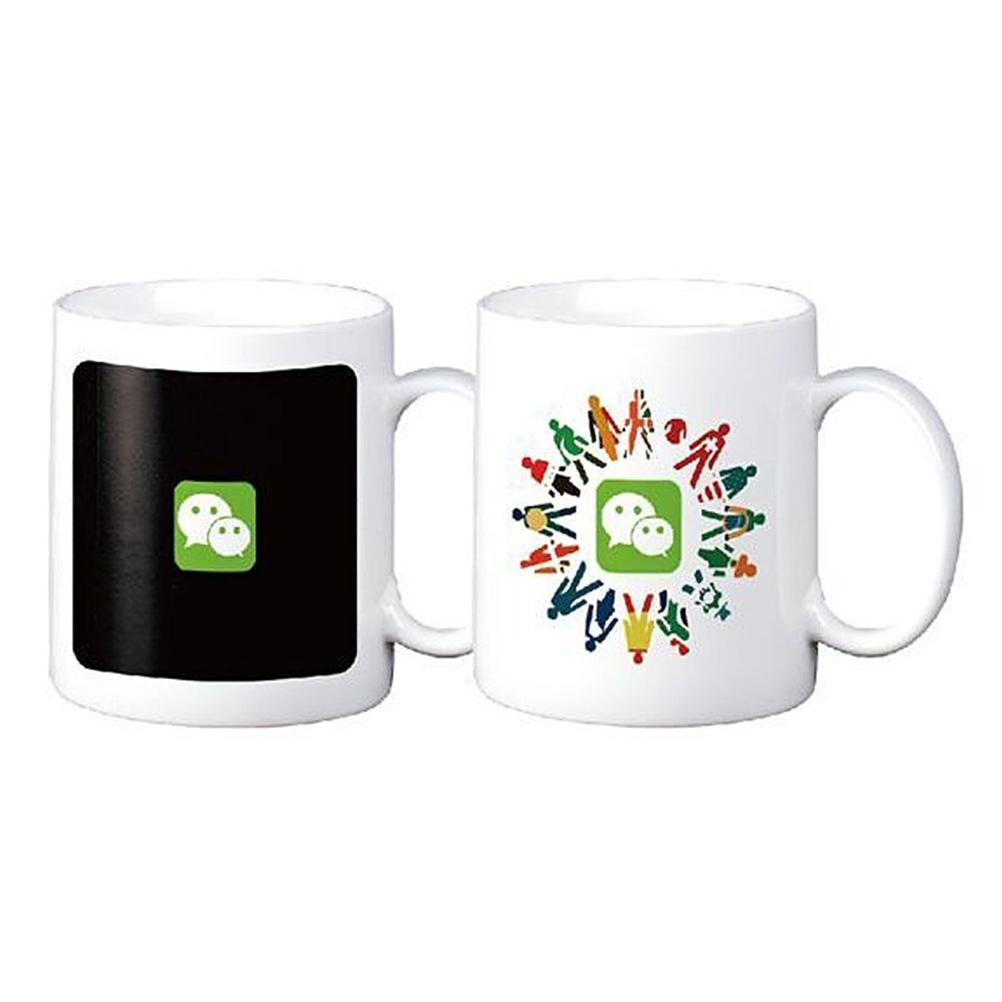 Magic Mug Coffee Tea Milk Hot Cold Heat Sensitive Color-changing Mug Cup zombie mugs Daryl Dixon ceramic coffee mug magical(China (Mainland))