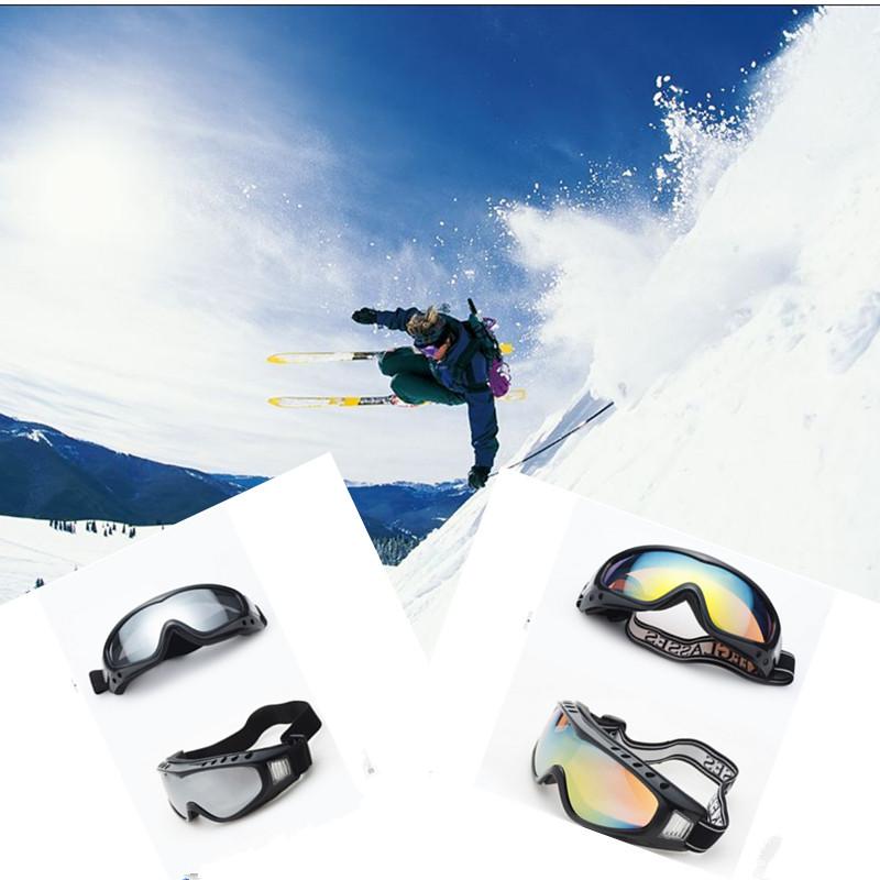 Professional ski goggles double UV400 anti-fog big ski mask glasses skiing snowboarding men women snow goggles BO#(China (Mainland))