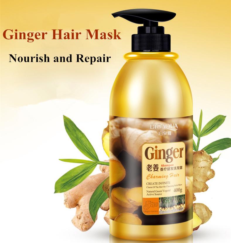Ginger Shampoo Professional Repair Shampoo Natural Hair