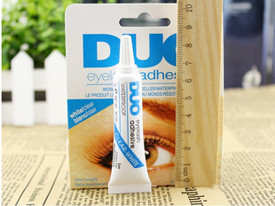 New Eyelash Glue white Clear Adhesive False Eyelash Glue For Professional makeup(China (Mainland))