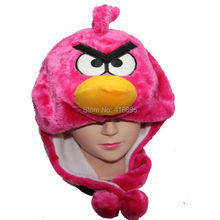 autumn winter hats costume Cosplay Bird animal Hat for child Kids Women Men Pink White(China (Mainland))