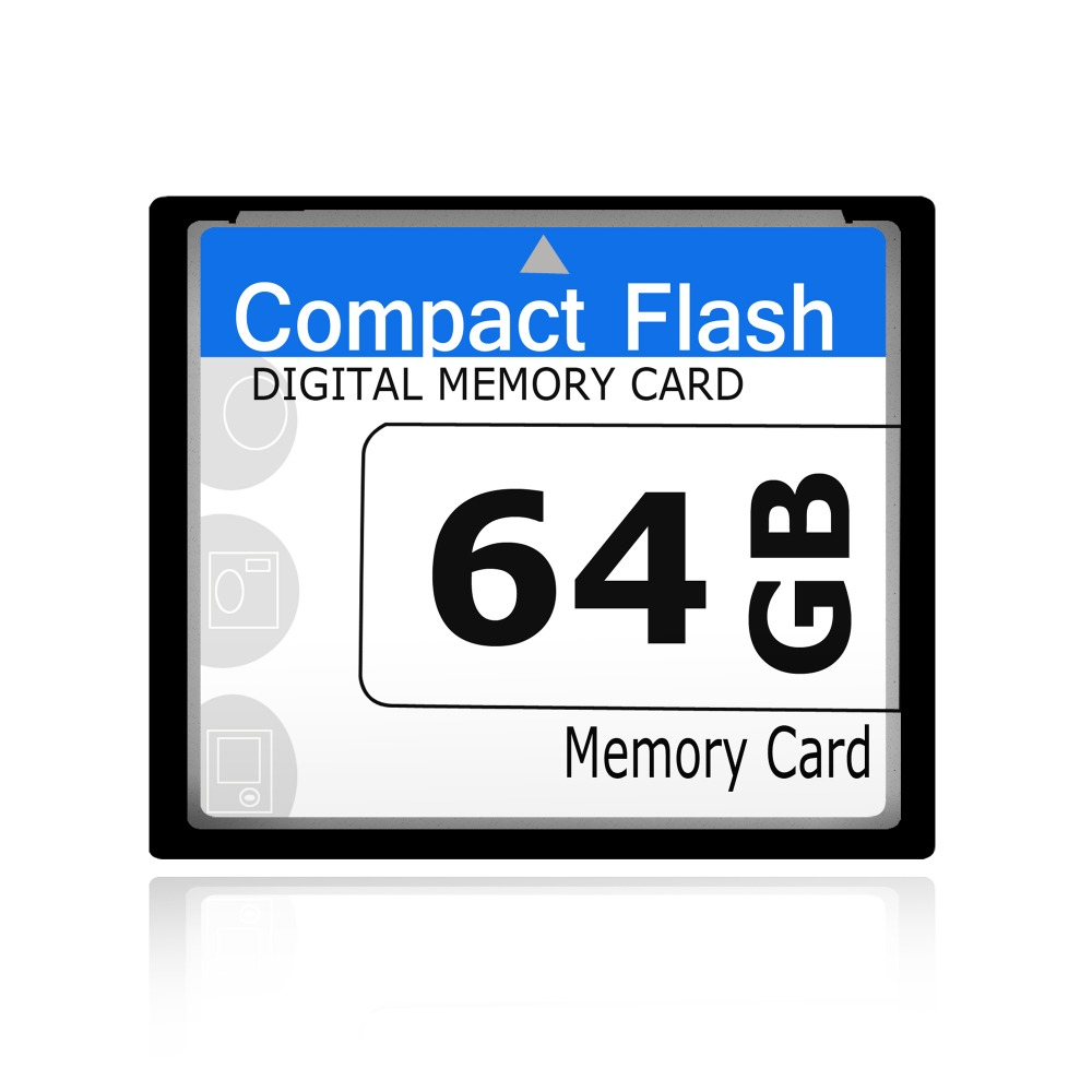 2016 New CF Card 64GB One Year Replacement Compact Flash Memory Card Full Capacity(China (Mainland))