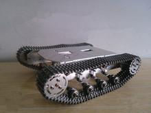 Metallschiene version! Große last tragen 8 ~ 10 KG/Metall tank auto chassis/Alle metall struktur, große größe/hindernis-überwindung tank auto(China (Mainland))