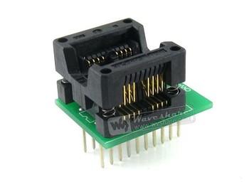 SOP8 TO DIP8 2-Units # SO8 SOIC8 Enplas IC Hot Socket Converter Module SOP8 to DIP8 Programmer Adapter For Sale