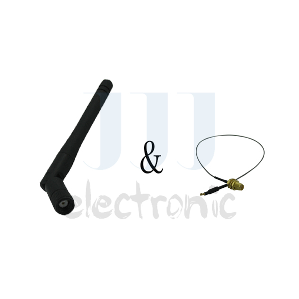 1 2dBi Dual Band WiFi RP-SMA Antenna + 1 U.fl Cable for Linksys Router WRT310N(China (Mainland))