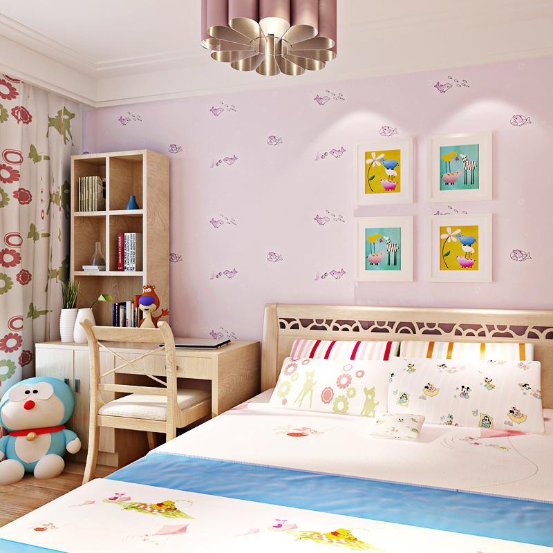 children 39 s room bedroom wallpaper boys natural non woven wallpaper