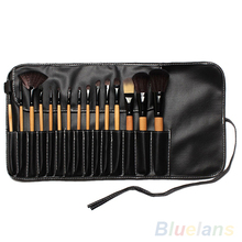 15Pcs Professional Soft Eyebrows Make Up Tools Cosmetic Beauty Makeup Brush Kits 4EKH