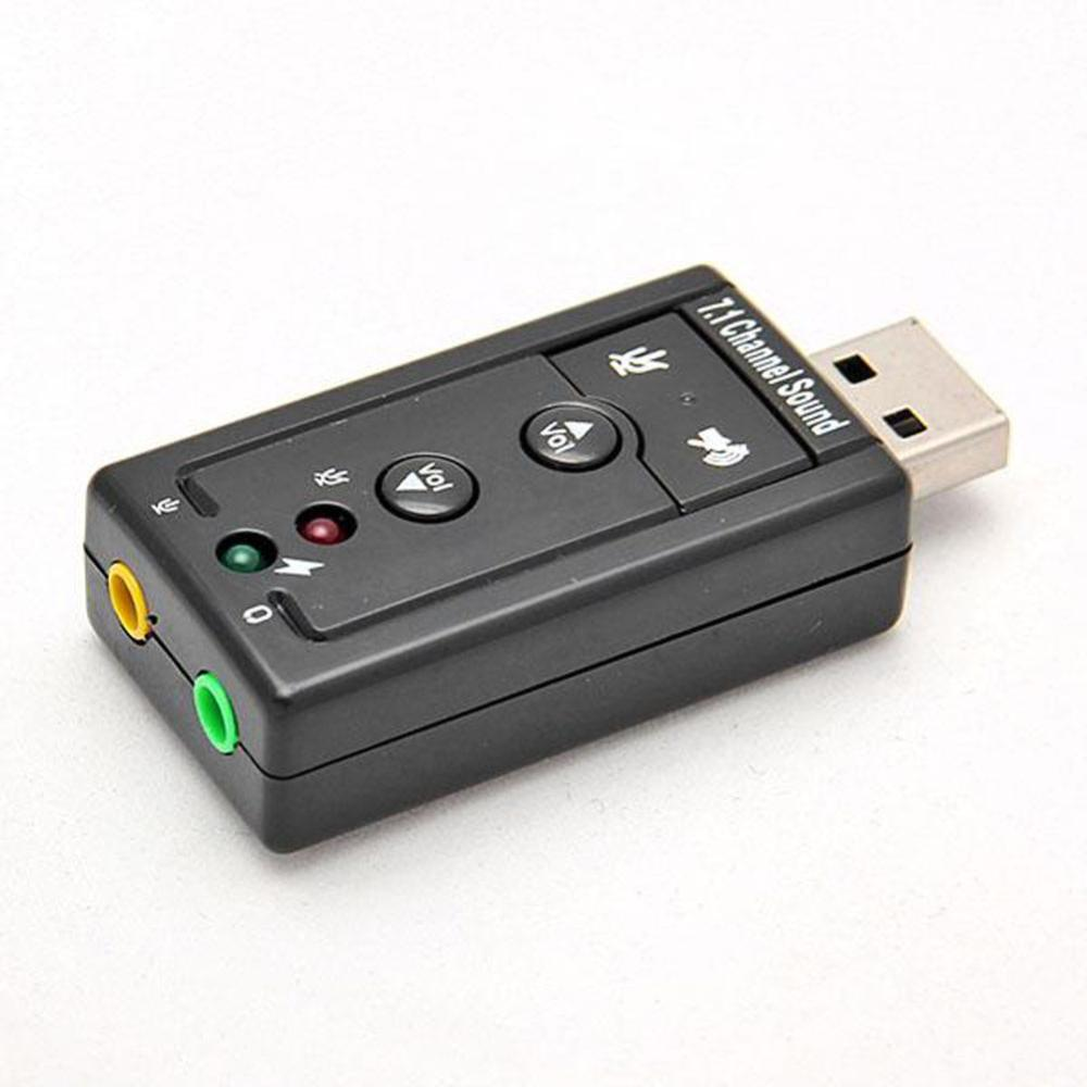 Hot Sale Mini USB 2.0 3D Virtual 480Mbps External 7.1 Channel Audio Sound Card Adapter(China (Mainland))