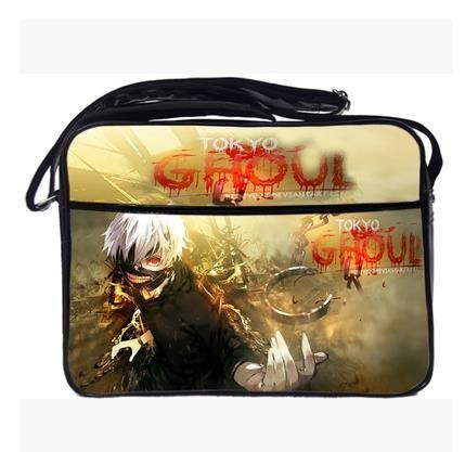 Tokyo Ghouls Sling Bags Cross Body Messenger Bag Anime Cosplay Satchel PU Waterproof Students Schoolbag