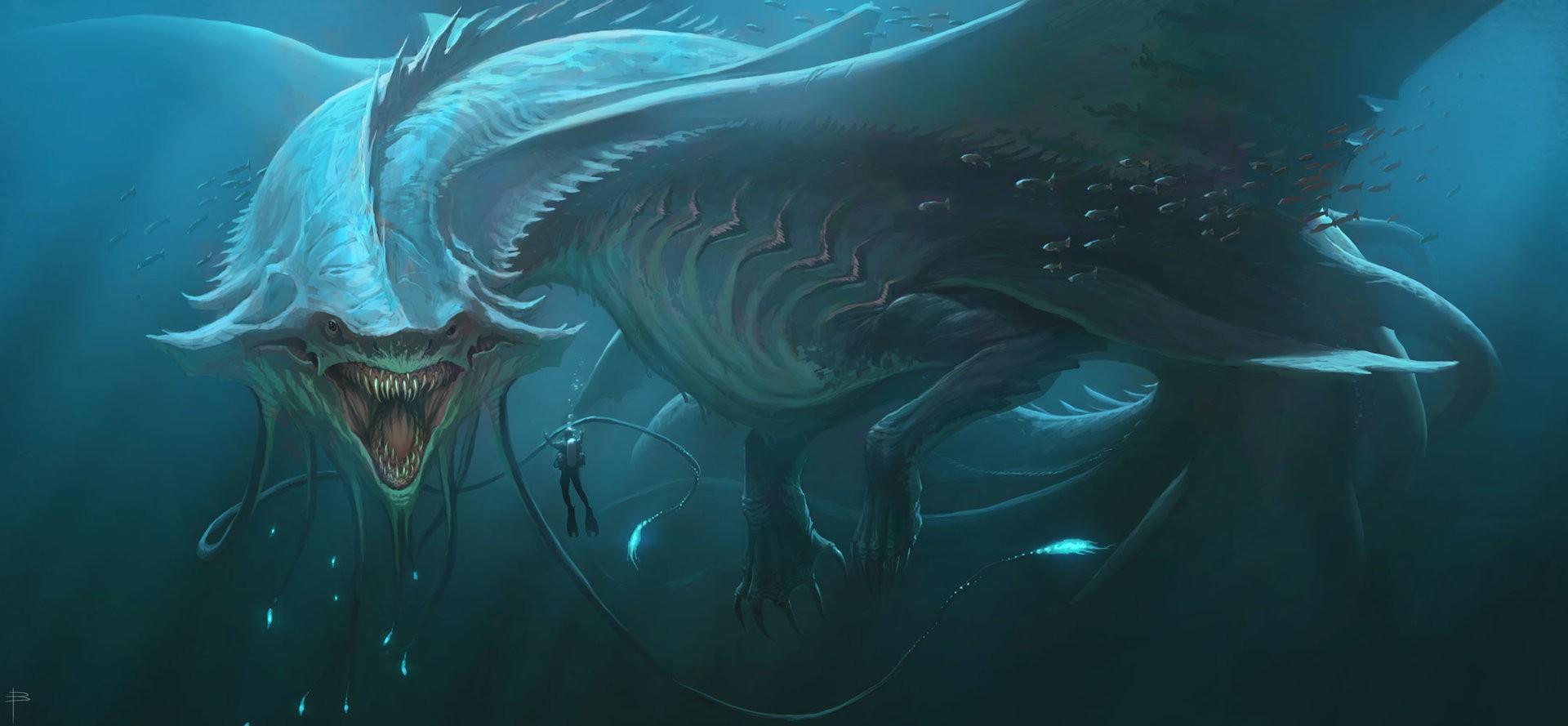 Fantasy water creatures - photo#25